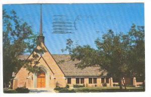 Presbyterian Church, La Grange, Texas, PU-1958