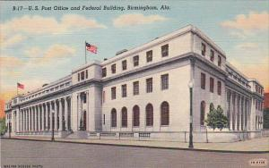U. S. Post Office and Federal Building, Birmingham, Alabama, 30-40s
