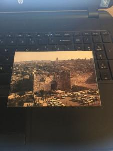 Vintage Postcard: Jerusalem, Damascus Gate