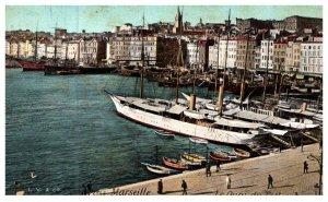 France Marseille , Le Quai du Port