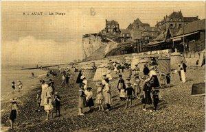CPA AULT - La Plage (514564)