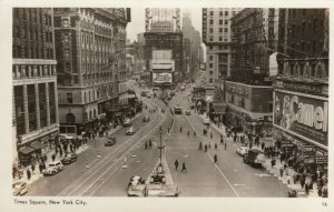 RP: Times Square , New York City, 1930s