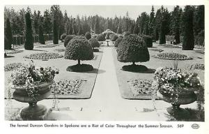 RPPC of Duncan Gardens in Spokane Wasnington WA
