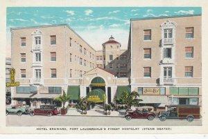 FORT LAUDERDALE , Florida , 1910s ; Hotel Broward