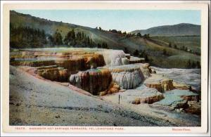 Mammith Hot Springs Terraces, Yellowstone Park