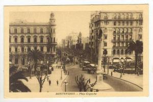 Busy Street Scene & Plaza Cagancha,Montevideo,Uruguay 1900-10s
