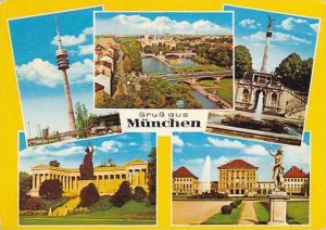 Greetings Gruss Aus Muenchen Multi View