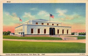 Kentucky Fort Knox United States Gold Depository Curteich