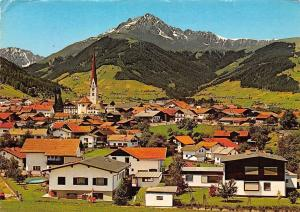Axams Tirol Blick gegen Rosskogel und Rangger Koepfl Panorama