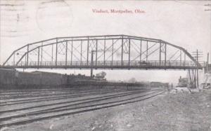 Viaduct and Bridge Montpelier Ohio 1909