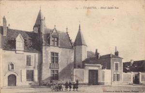 ETAMPES, Hotel Saint-Yon, Paris, France, 10-20s