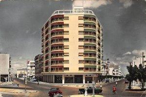 Morocco Meknes L'Immeuble des Anciens Combattants au Carrefour Postcard
