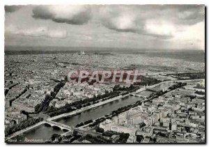 Modern Postcard Paris Panorama of the Seine