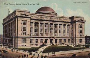 Nebraska Omaha New County Court House
