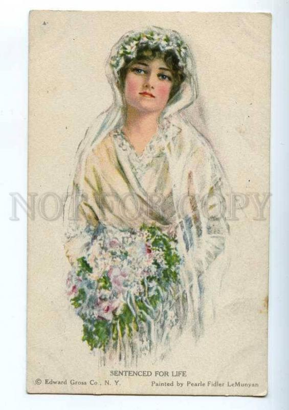 215745 American Girl WEDDING Bride by LEMUNYAN Vintage PC