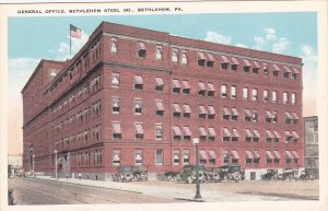 BETHLEHEM , Pennsylvania , 1910s ; General Office, Bethlehem Steel Company