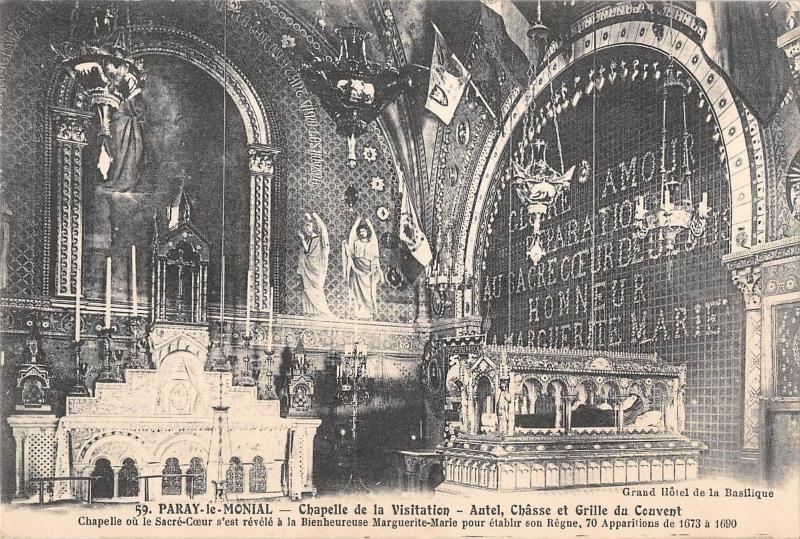 BF7222 paray le monial chapelle de la visitation france      France