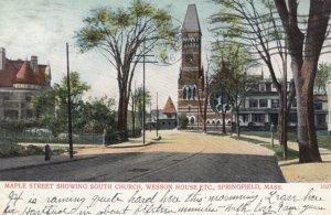 SPRINGFIELD , Mass. , 1906 ; Maple Street