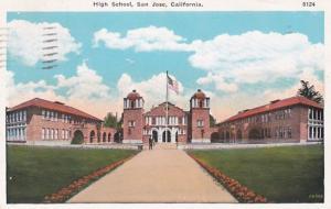 California San Jose High School 1945