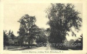 Lincoln Highway  Metuchen NJ Unused