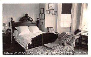 Bedroom of Franklin D Roosevelt in Hyde Park, New York