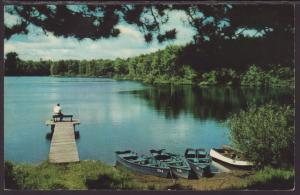 Chain of Lakes,Northern IL Postcard BIN