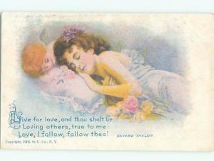 Divided-Back PRETTY WOMAN Risque Interest Postcard AA7858