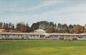 CONCORD, New Hampshire, 50-60s, The Brick Tower Motel and Dining Room