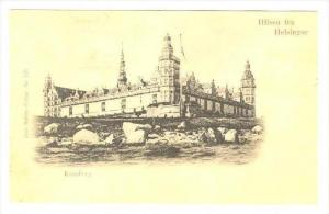 Hilsen fra Helsingor, Kronborg, Danmark, 1890s-1905