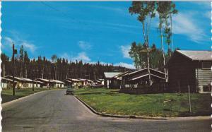 Partial Street View, Mackenzie, B.C., Canada, 1940-1960s