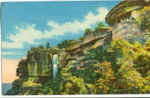 Lover's Leap, High Falls, Lookout Mountain, unused Postcard
