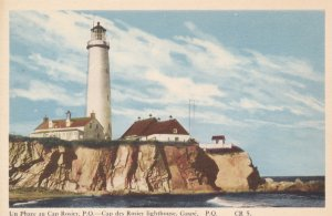 GASPE , Quebec , Canada , 1930s ; Un Phare au Cap Roiser ; LIGHTHOUSE