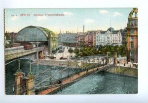138386 Germany BERLIN Railway station Bahnhof Friedrichstrasse