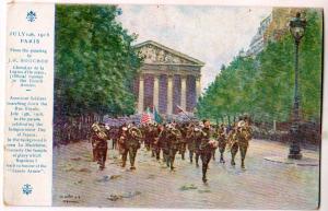 July 14th 1918 Paris