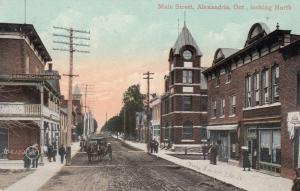 ALEXANDRIA , Ontario , Canada, 1900-10s ; Main Street