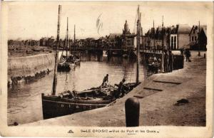 CPA  Le Croisic - Vue du Port et les Quais   (242586)