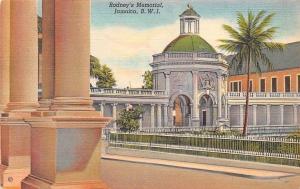 B.W.I. Jamaica Rodney's Memorial Spanish Town Greetings