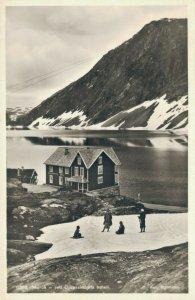 Norway Merok ved Djupvasshytta hotel RPPC 03.36