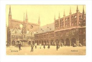 Lubeck , Rathaus, Germany , 00-10s
