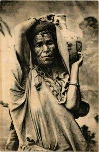 CPA AK ND 256 Vieille Bedouine centenaire TUNISIE (798737)