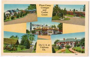 Pines Camp Cottages & Trailer Court, Valdosta Ga