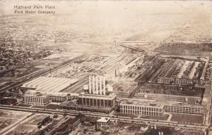 RP: DETROIT, Michigan, 1920-30s; Highland Park Plant, Ford Motor Company