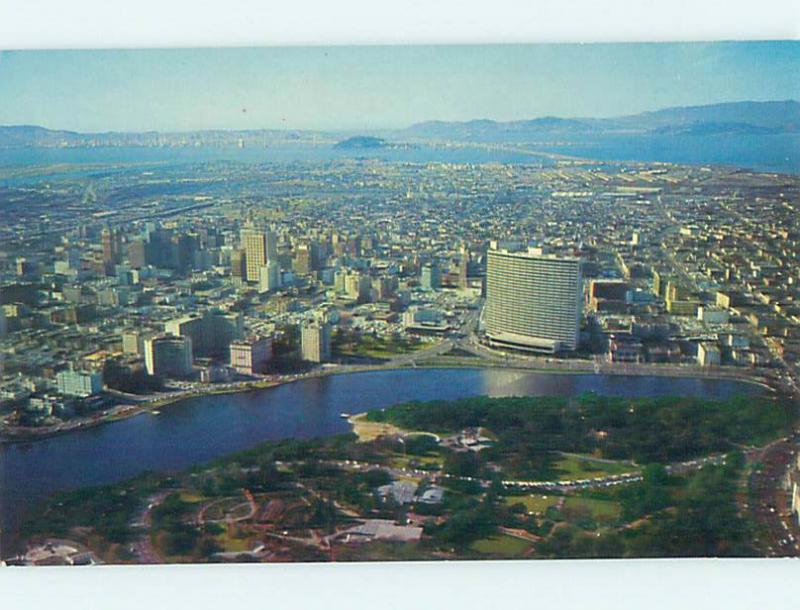 Unused Pre-1980 AERIAL VIEW Oakland California CA hs8034
