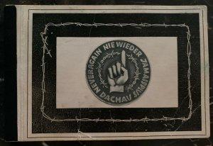 Dachau KZ Concentration Camp 10 Picture /Postcard Memorial Full Set 1950