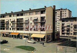 Modern Postcard Franconville (Val d'Oise) Residence Mill Shopping Center Squa...