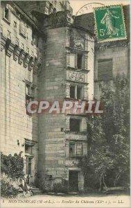 Old Postcard Montsoreau M and L Escalier du Chateau