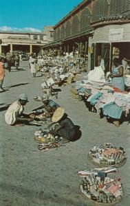 PORT AU PRINCE, Haiti, 40-60s; Street Scene near Iron Market # 2
