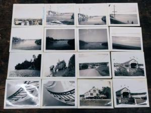 Group of 16 St John New Brunswick Canada Snapshot Polaroids J70656
