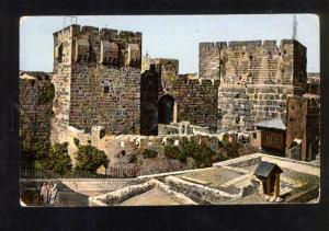 050692 Jerusalem Tower of David Vintage color PC