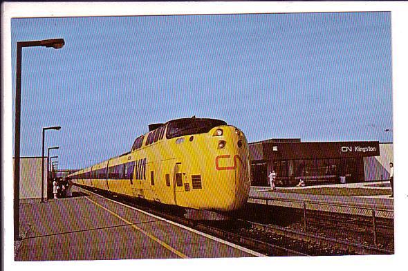Canadian National Railway, VIA Turbo, Kingston Train Station, Ontario,